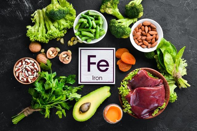 Diät, um das Eisen im Blut Diät senken